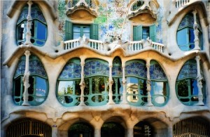 gaudi apartment house