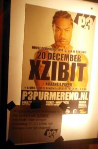 Xzibit poster en plakbericht