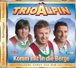 CD Trio Alpin - Komm mit in die Berge